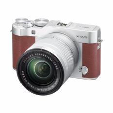 Toko Jual Fujifilm X A3 Kamera Mirrorless With 16 50Mm Lens Brown