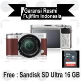 Beli Fujifilm X A3 Kit 16 50 Mm Brown Mirrorless Murah Di Indonesia