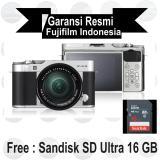 Beli Fujifilm X A3 Kit 16 50 Mm Silver Mirrorless Nyicil