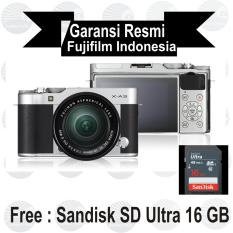 Jual Fujifilm X A3 Kit 16 50 Mm Silver Mirrorless Import