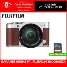 Jual Fujifilm X A3 Kit Xc 16 50Mm F 3 5 5 6 Ois Ii Brown Free Sdhc 16Gb Online Di Indonesia