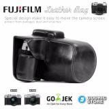 Review Fujifilm X T10 Xt10 X T20 Xt20 Leather Bag Case Tas Kamera Hitam Dki Jakarta