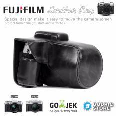 Spesifikasi Fujifilm X T10 Xt10 X T20 Xt20 Leather Bag Case Tas Kamera Hitam Baru