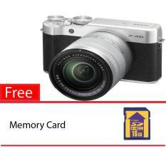 Fujifilm XA 10 +16-50 - Silver