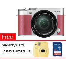 Fujifilm XA 3 + 16-50 - Pink