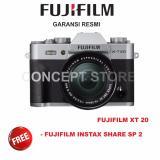 Harga Fujifilm Xt 20 16 50Mm Silver Xt 20 Xt20 Origin