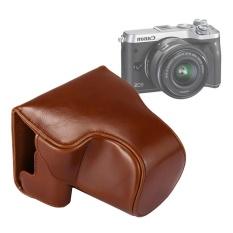 Beli Full Tubuh Kamera Pu Kulit Case Casing Dengan Tali Untuk Canon Eos M6 Brown Intl Terbaru