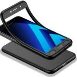Harga Tubuh Penuh Case Untuk Samsung Galaxy A7 2017 A720 5 7 Soft Tpu Matte Finish Slim Cover 2 In 1 Cakupan Penuh Perlindungan Dengan Pelindung Layar Anti Gores Hitam Intl Murah