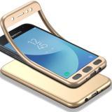 Jual Beli Tubuh Penuh Case Untuk Samsung Galaxy J5 2017 J750F J5 Pro 2017 Soft Tpu Matte Finish Slim Cover 2 In 1 Cakupan Penuh Perlindungan Dengan Tempered Glass Screen Protector Hitam