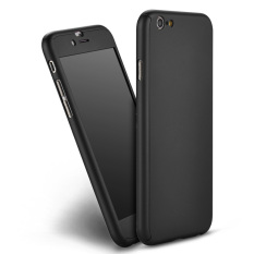Jual Beli Tubuh Penuh Melindungi Keras Case Ramping Lindungi With Anti Gores Untuk Iphone 6 4 7 Hitam