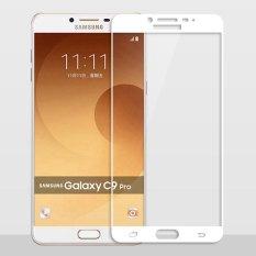Full Cover Tempered Glass Untuk Samsung Galaxy C9 Pro C9Pro C9000 2 5D 9 H Anti Gores Ledakan Proof Screen Protector Film Putih Intl Tiongkok