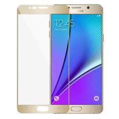 Daftar Harga Full Cover Pelindung Anti Gores Untuk Samsung Galaxy Note 5 Emas Oem