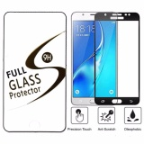 Diskon Full Cover Tempered Glass Untuk Samsung Galaxy J7 Pro Antigores Kaca Screenguard Anti Gores Kaca Hitam