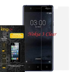 Full Cover Tempered Glass Warna Screen Protector for NOKIA 3 Anti Gores Kaca  – BENING