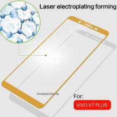 Rp 14.000. Full Cover Tempered Glass Warna Screen Protector for VIVO V7 PLus ...
