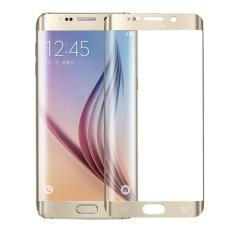 Full Cover Toughened Plating Tempered Glass LCD Screen Protector For Samsung Galaxy S6 Edge Plus - intl