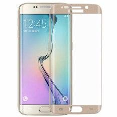 Penuh Penutup Dikeraskan Kaca Tempered Pelindung Layar LCD untuk Samsung Galaxy S6 Edge PLUS 5,7 Inci