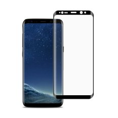 Promo Full Coverage 3D Melengkung Screen Protector Tempered Kaca Film Untuk Samsung S8 Plus Hitam Intl Oem