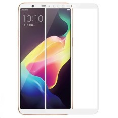 Full Covered Curved Tempered Glass Screen Protector for OPPO R11S Plus (White) - intl