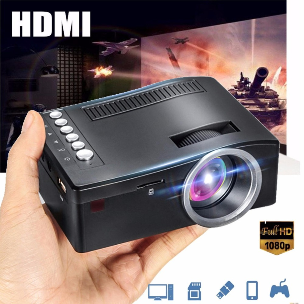 Beli Full Hd 1080P Proyektor Masukan Multimedia Teater Led Mini Cinema Tv Vga Mh Online Murah