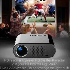 Full HD 720P LED/LCD 350 Lumens VGA TV Home Theater Projector Video Movie New - intl