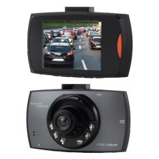 Full HD Car DVR Recorder 1080P LED LCD 2.7 Inch TFT Color CCTV Perekam Kamera Mobil - G Sensor Night Vision