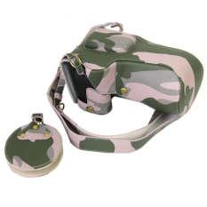 Full Protection Bottom Opening Versi Pelindung PU Kulit CameraCase Bag dengan Desain Tripod Kompatibel untuk Canon EOS 60D 70D- INTL