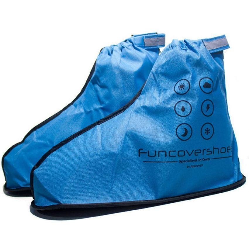 Review Toko Funcover Cover Shoes Jas Sepatu New Gen Series Biru Online
