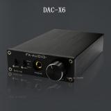 Beli Fx Audio Feixiang Dac X6 Demam Hifi Amp Usb Fiber Coaxial Digital Audio Decoder Dac 16Bit 192 Amplifier Tpa6120 Pengiriman Gratis Online