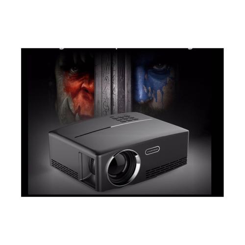 G Holic Gp80 Mini Projector Led 1800 Lumens Full Hd Quality Proyektor Dki Jakarta Duniaaudio Com