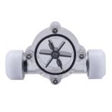 Jual G1 4 Port Perempuan Untuk Perempuan Flow Meter Indikator Untuk Pc Air Cooling System Putih Vakind Murah