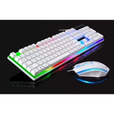G21 cable USB light gaming mouse touch backlight keyboard and mousecomputer machine