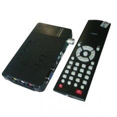 Gadmei Tv Tuner CRT 3810E Support LCD - Hitam