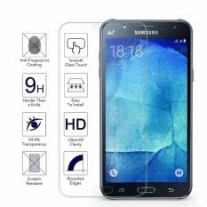 Galaxy J7 Prime Tempered Glass Screen Protector untuk Samsung Galaxy J7 Prime dengan Premium Clear Kekerasan 9 H-Intl