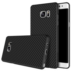 Galaxy Note FE / Fan Edition Case, Nillkin Luxury Ultra-Slim Synthetic Carbon Fiber & PP Premium Bumper Case Shockproof Protective Shell Back Cover Compatible for Samsung Galaxy Note FE / Fan Edition (Black) - intl