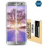 Top 10 Galaxy S7 Edge Screen Protector 3 Pack Luowan 3D Pet Hd Clear Full Coverage Screen Protector For Galaxy S7 Edge Anti Bubble Film Online