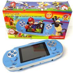 Game Boy Nintendo Sega PVP DW-186  Pocket Game Mainan Anak Nintendo Portabel Portable - Biru