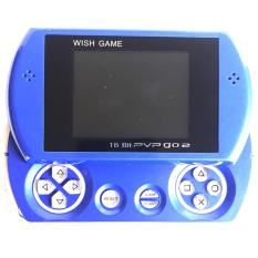Game Boy PVP GO 2 DW-278 Sliding 16 Bit SEGA Pocket Game Mainan Anak Nintendo Portabel Portable - Biru Muda