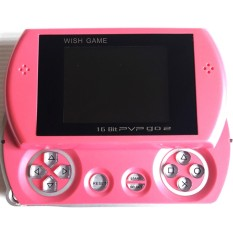 Game Boy PVP GO 2 DW-278 Sliding 16 Bit SEGA Pocket Game Mainan Anak Nintendo Portabel Portable - Pink