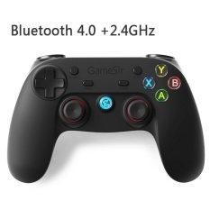 Gamesir G3s Series Wireless 2.4 GHz Bluetooth 4.0 Controller Gamepad Kontrol untuk Android/iOS/PC/PlayStation3 Gaming (Enhanced Edition) (hitam)-Intl