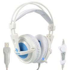 Toko Gaming Headphone Sades A6 Profesional Headset 7 1 Surround Usb Getaran Mic Oem Tiongkok