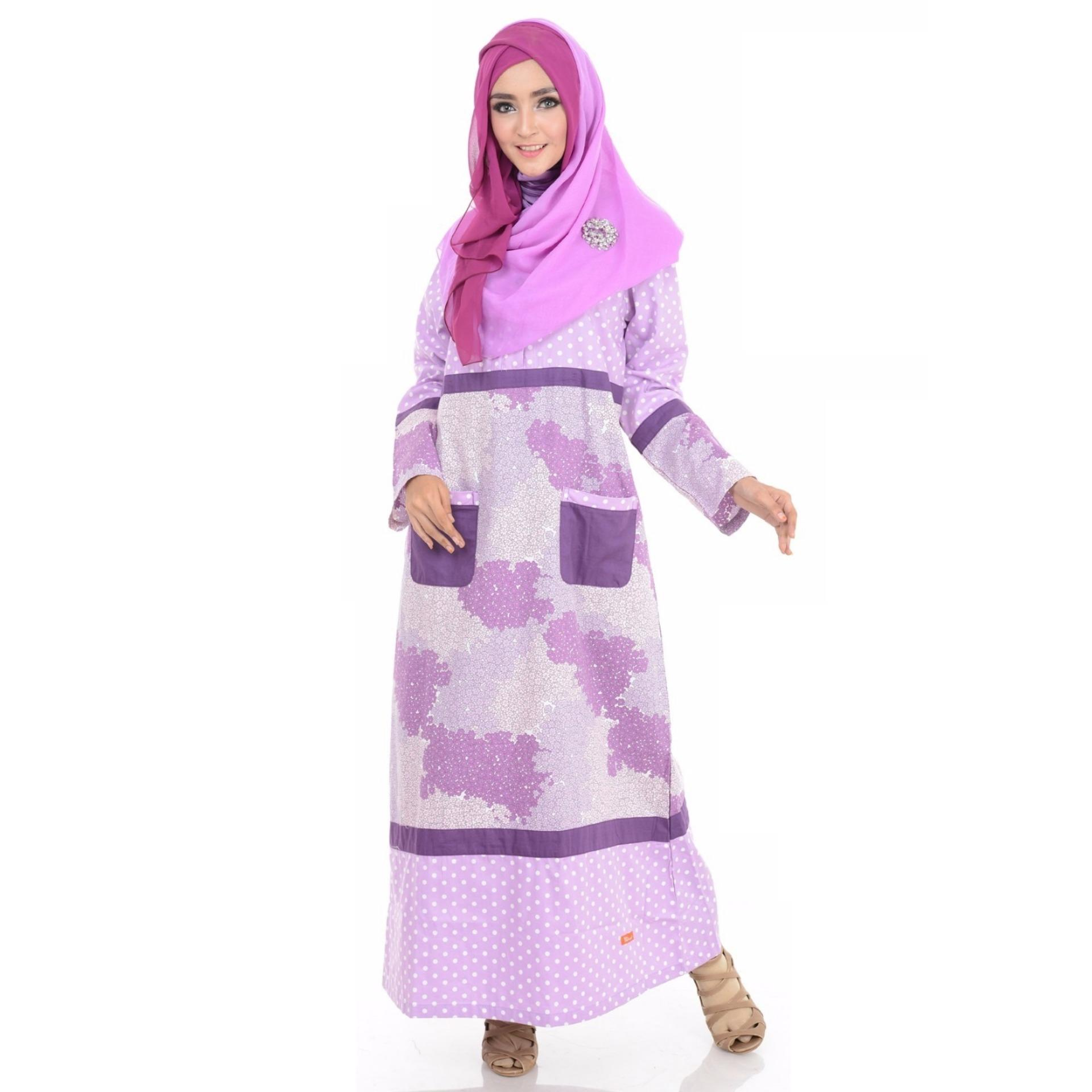 Gamis NIbras NB 118-Purple