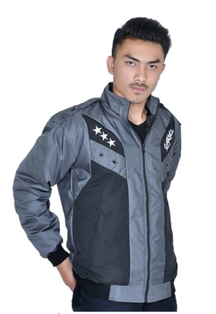 Toko Garsel Jaket Bahan Despo 186 Faj 014 Abu Abu Termurah Jawa Barat