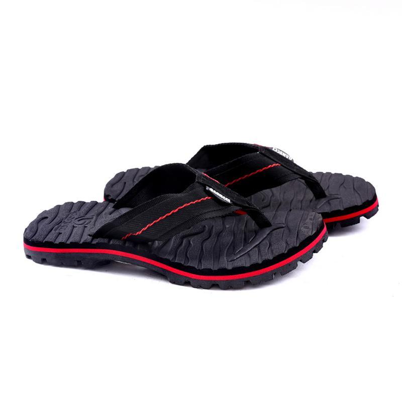 Garucci Gsg 3083 Sandal Casual Pria-Webbing-Bagus(Black Kombinasi)