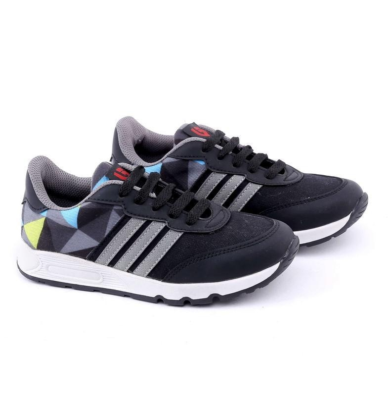 Toko Garucci Sepatu Kasual Sneaker Anak Laki Laki Gda 9100 Black Comb Lengkap Di Jawa Barat