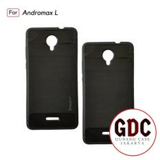 GDC Case Andromax L Ipaky Carbon Soft Series