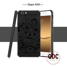 GDC Cocose Dragon Case Oppo F1s A59 Original TPU Soft Backcase