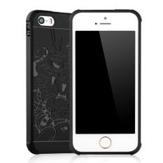 GDC Dragon Shockproof Hybrid Case For Iphone 5 / 5S / 5SE