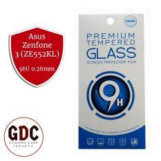 GDC Premium Tempered Glass Screen Protector / Anti Gores Kaca Asus Zenfone 3 (ZE552KL) - Bening
