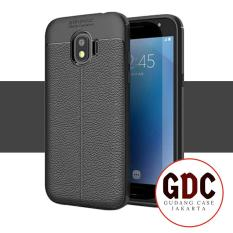 GDC Premium Ultimate Shockproof Leather Case For Samsung Galaxy J2 Pro 2018 - Black